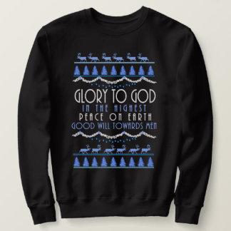 Glory to God in the Highest Christmas Sweatshirt