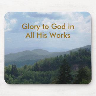 Glory to God Mousepads