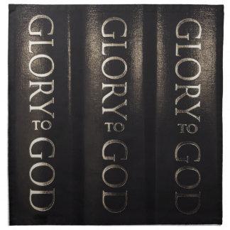 Glory to God Napkin