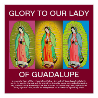 GLORY TO GUADALUPE POSTER