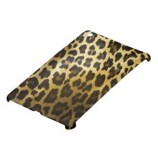 Glossy Golden Leopard Fur iPad Mini Case