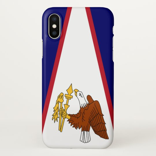 Glossy iPhone Case with Flag of American Samoa