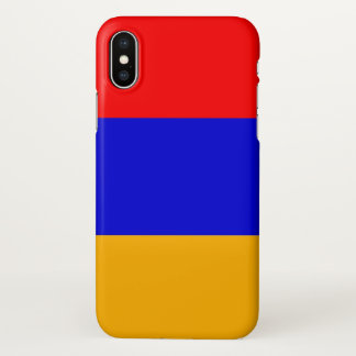 Glossy iPhone Case with Flag of Armenia