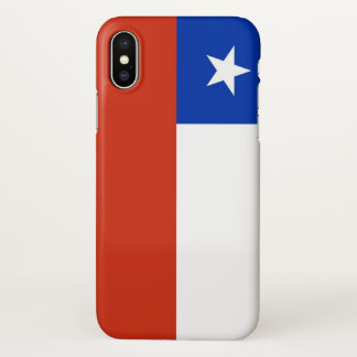 Glossy iPhone Case with Flag of Chile