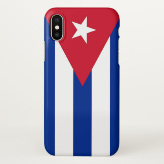 Glossy iPhone Case with Flag of Cuba
