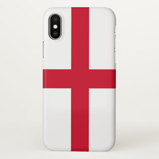 Glossy iPhone Case with Flag of England