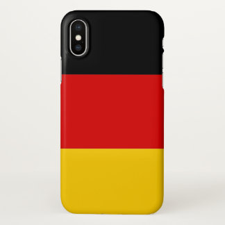 Glossy iPhone Case with Flag of Germany