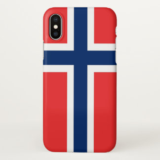 Glossy iPhone Case with Flag of Norway