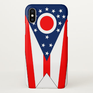 Glossy iPhone Case with Flag of Ohio