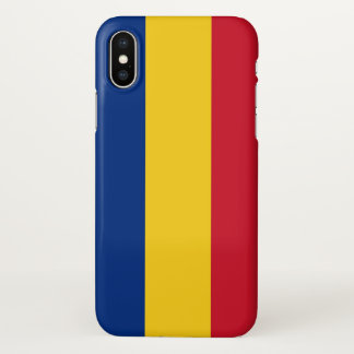 Glossy iPhone Case with Flag of Romania