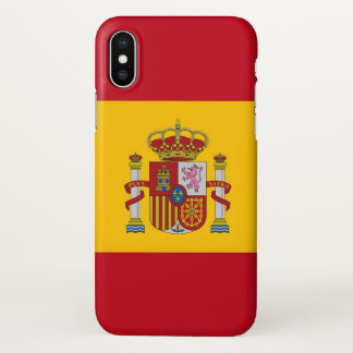 Glossy iPhone Case with Flag of Spain