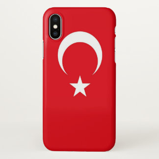 Glossy iPhone Case with Flag of Turkey