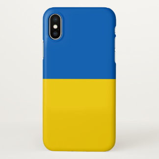 Glossy iPhone Case with Flag of Ukraine