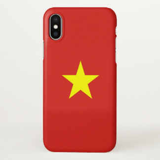 Glossy iPhone Case with Flag of Vietnam