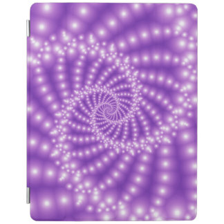 Glossy Pastel Purple Spiral iPad 2/3/4 Cover iPad Cover