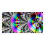Glossy Rainbow Fractal Posters