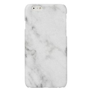 Glossy White Marble iPhone CASE