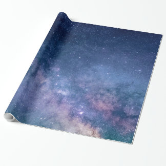 """Glossy Wrapping Paper, 30""""x15' STAR CONSTELLATION Wrapping Paper"""