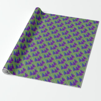 """Glossy Wrapping Paper with Pine Trees, 30"""" x 6'"""