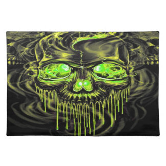 Glossy Yella Skeletons Placemat