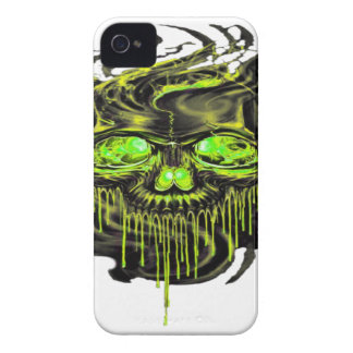 Glossy Yella Skeletons PNG Case-Mate iPhone 4 Cases