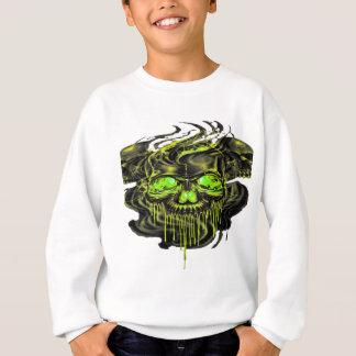 Glossy Yella Skeletons PNG Sweatshirt