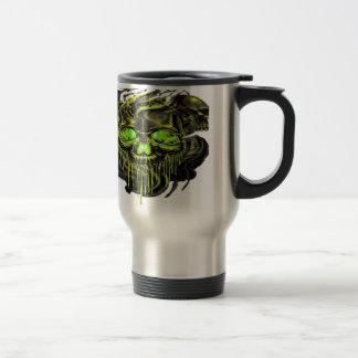 Glossy Yella Skeletons PNG Travel Mug