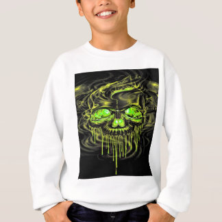 Glossy Yella Skeletons Sweatshirt