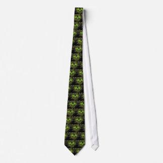 Glossy Yella Skeletons Tie
