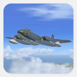 Gloster Meteor Jet Fighter Plane Sticker