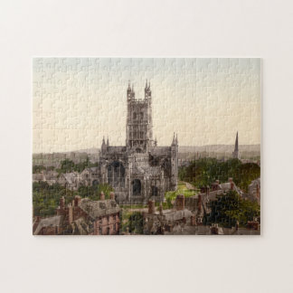 Gloucester Cathedral I, Gloucestershire, England Jigsaw Puzzle