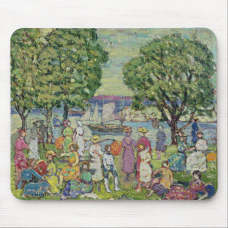 Gloucester Harbour (oil on canvas) Mouse Pad