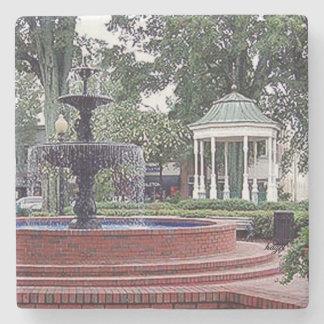 Glover Park Fountain Marietta, Ga. Marble Stone Co Stone Coaster