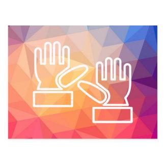 Gloves Carpenters Minimal Postcard