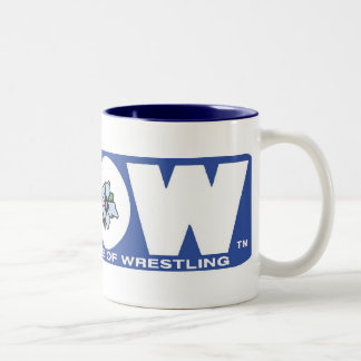 GLOW Big Mug Blue Logo