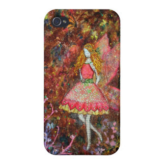 Glow (fairy) art by Janelle Nichol iPhone 4/4S Cover