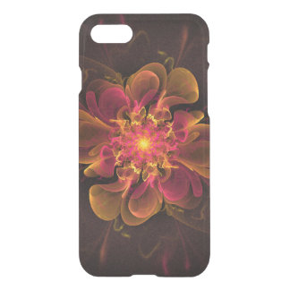 Glow Flower iPhone 7 Clearly™ Deflector Case