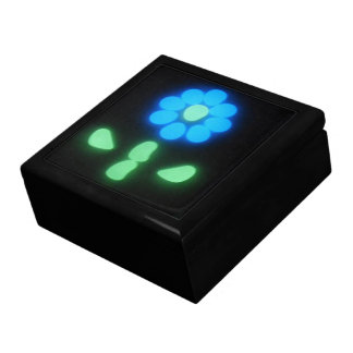 Glow Flower Power 1 Large Square Gift Box