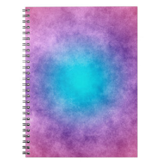 Glow Gradient Grunge Colorful Journal Notebook