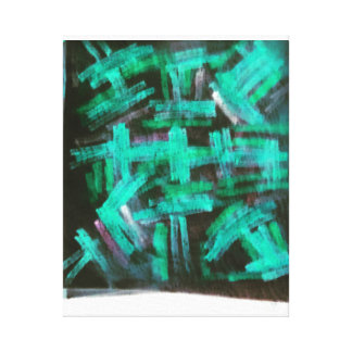 glow in the dark gallery wrapped canvas