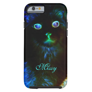 Glow In The Dark Cat iPhone 6 Case