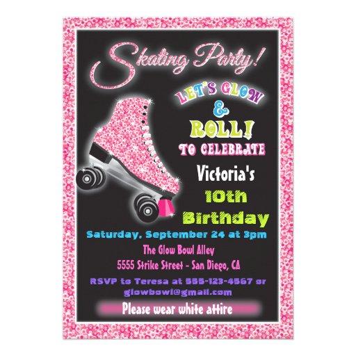 Roller Skating Invitations, 486 Roller Skating Invites ...