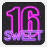 Glow in the Dark Sweet 16