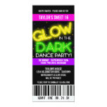 Glow in the Dark Sweet 16 Party