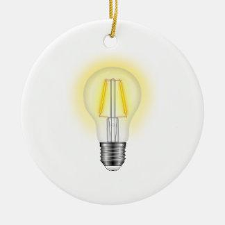 Glow Lamp Ceramic Ornament