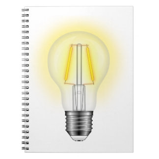 Glow Lamp Notebook