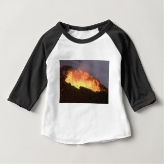 glow of volcanic fire baby T-Shirt