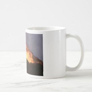 glow of volcanic fire coffee mug