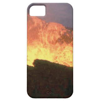 glow of volcanic fire iPhone 5 covers