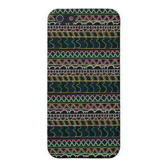 Glow Pattern iPhone 5/5S Covers